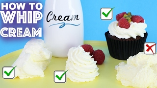 HOW TO WHIP CREAM | Have YOU been doing it wrong? | My Cupcake Addiction