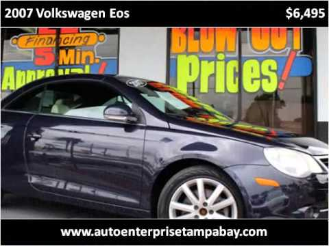 2007 Volkswagen Eos Used Cars New Port Richey FL