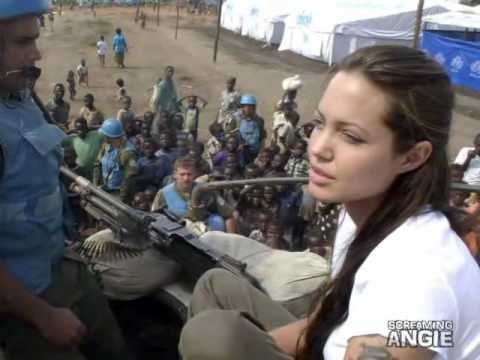 ANGELINA JOLIE -RIPPLES OF GENOCIDE*JOURNEY THROUGH EASTERN CONGO *