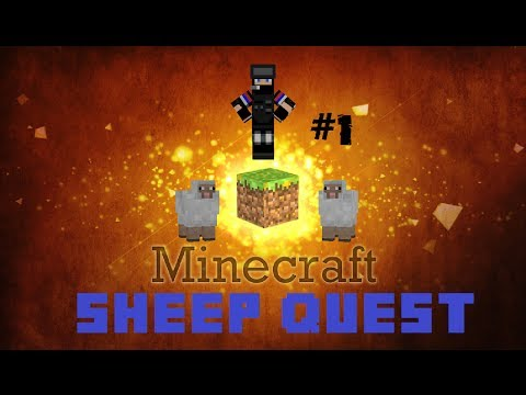 Aca igra:Minecraft Sheep Quest-Hacker!!![Ep1]