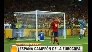 Visión Siete: España Campeón de la Eurocopa 2012