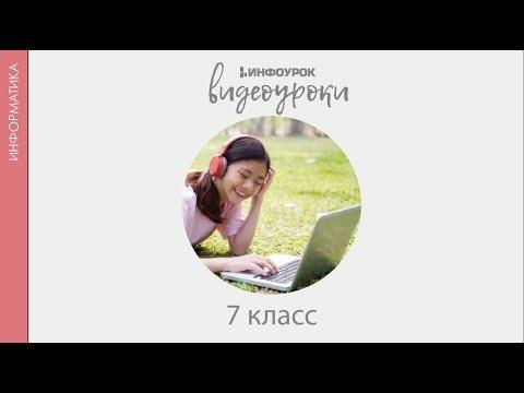 Видеоурок информация и информационные процессы