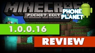 MINECRAFT PE 1.0.0.16 Review - СТРИМ - PHONE PLANET