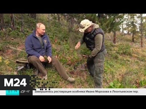 Дмитрий Песков ответил на стихотворение Шнурова об отдыхе Путина в Туве - Москва 24
