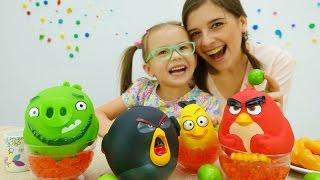 Видео для детей: ютьюб игры для девочек готовить. Рецепт варенья из яблок с ЭНГРИ Бердз