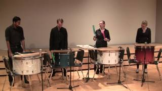 """""""How not to be a percussion ensemble"""""""