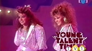 Kylie Minogue & Dannii Minogue - Sisters Are Doing It For Themselves (Young Talent Time 1986)