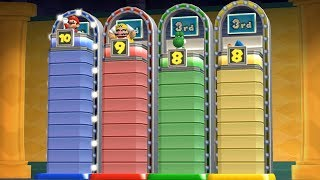 Mario Party 9 - Step It Up - Mario VS Wario VS Yoshi VS Magikoopa