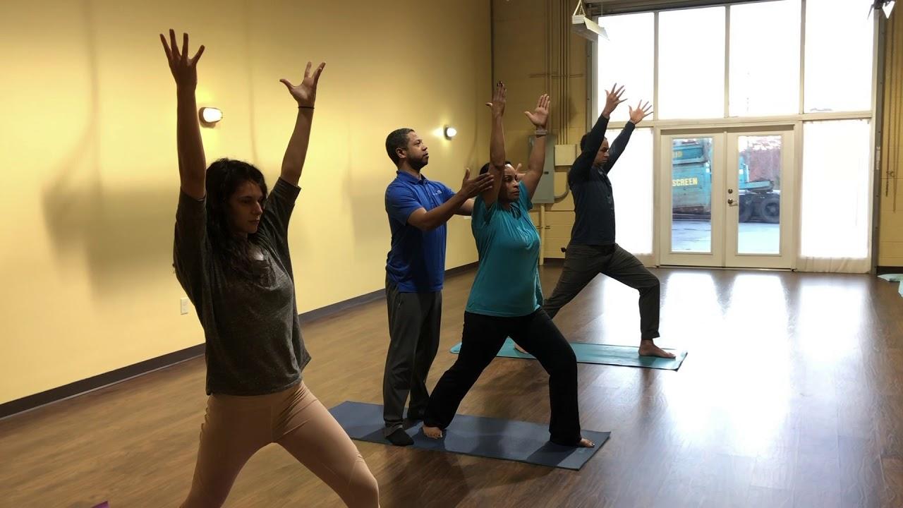 HCT Corporate wellness, yoga, tai chi, meditation - YouTube