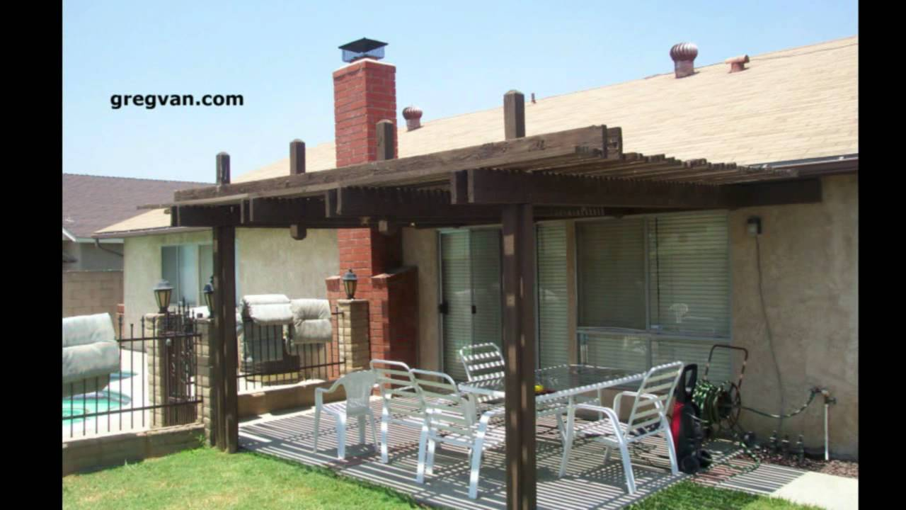 Elegant Donu0027t Hit Your Head On This Patio Post   Outdoor Patio Cover Design    YouTube