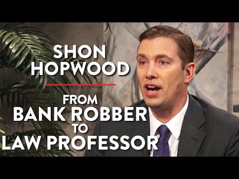 From Bank Robber to Law Professor (Shon Hopwood Pt. 1)
