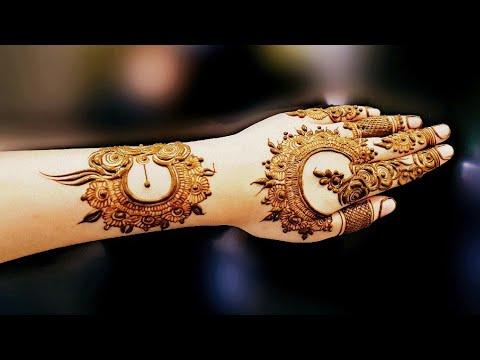 Dubai Style Henna Design 10 By Heena Vahid