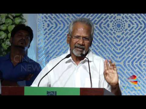 Maniratnam: I am Jealous Of Pc Sreeram