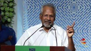 Maniratnam: I am Jealous Of Pc Sreeram