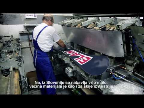 Kako se proizvodi Elan snowboard daska?