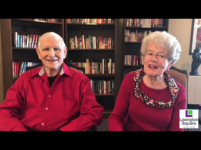 Dorothy and Ray - Why We Love Lexington Square