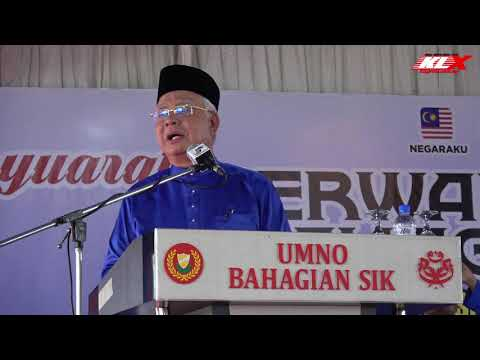 Konon Nak Selamatkan Malaysia Janji Macam - Macam - Najib Razak
