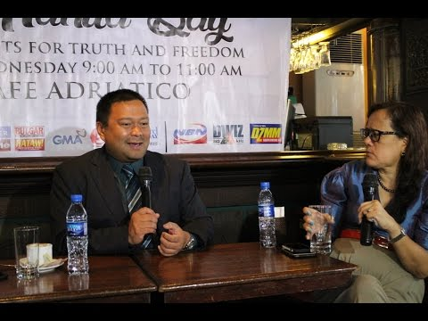Kapihan: SEN. EJERCITO ON THE REVIVAL OF BNPP & HIGH COST OF ELECTRICITY