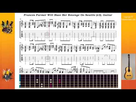 Frances Farmer Will Have Her Revenge On Seattle (v3) - Nirvana - Guitar