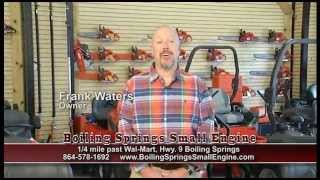 BOILING SPRINGS SMALL ENGINE - Summer TV Commercial