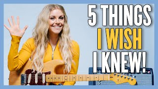 What I Wish I Knew When I Started Playing Guitar (feat. @Lindsay Ell)