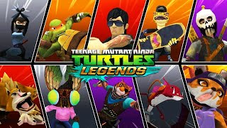 ЧЕРЕПАШКИ НИНДЗЯ ЛЕГЕНДЫ - СОСТАВЫ ПОДПИСЧИКОВ  НОВЫЕ СЕРИИ (мобильная игра) видео 2020 TMNT Legends