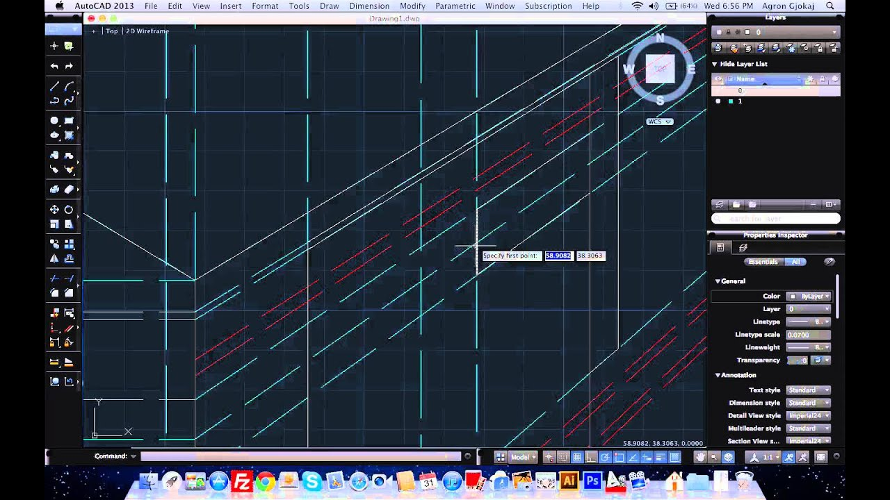 AutoCad Tutorial How to Make a Desk Perspective YouTube