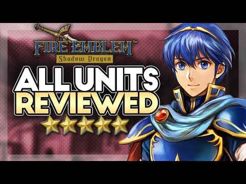 Fire Emblem Shadow Dragon: Unit Review Compilation