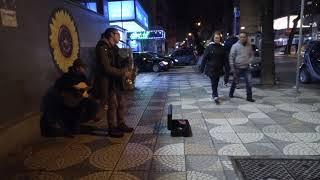 Street music in Tirana