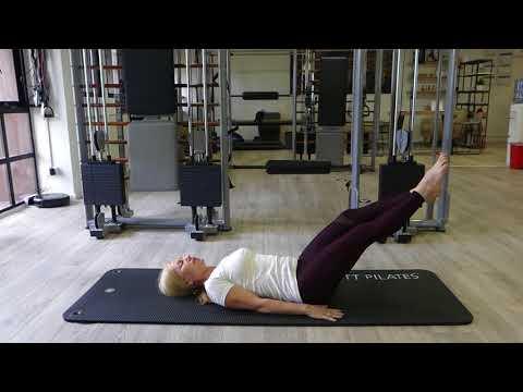 Pilates Scissors Exercise for Healthy Spine
