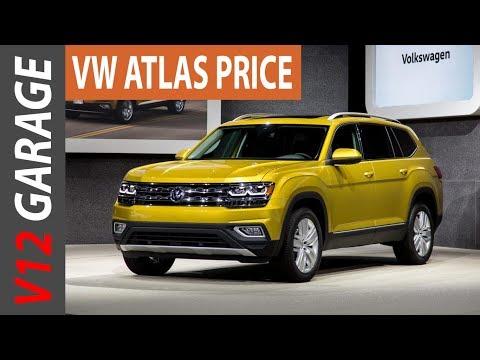 2018 Volkswagen Atlas Review MPG and Price