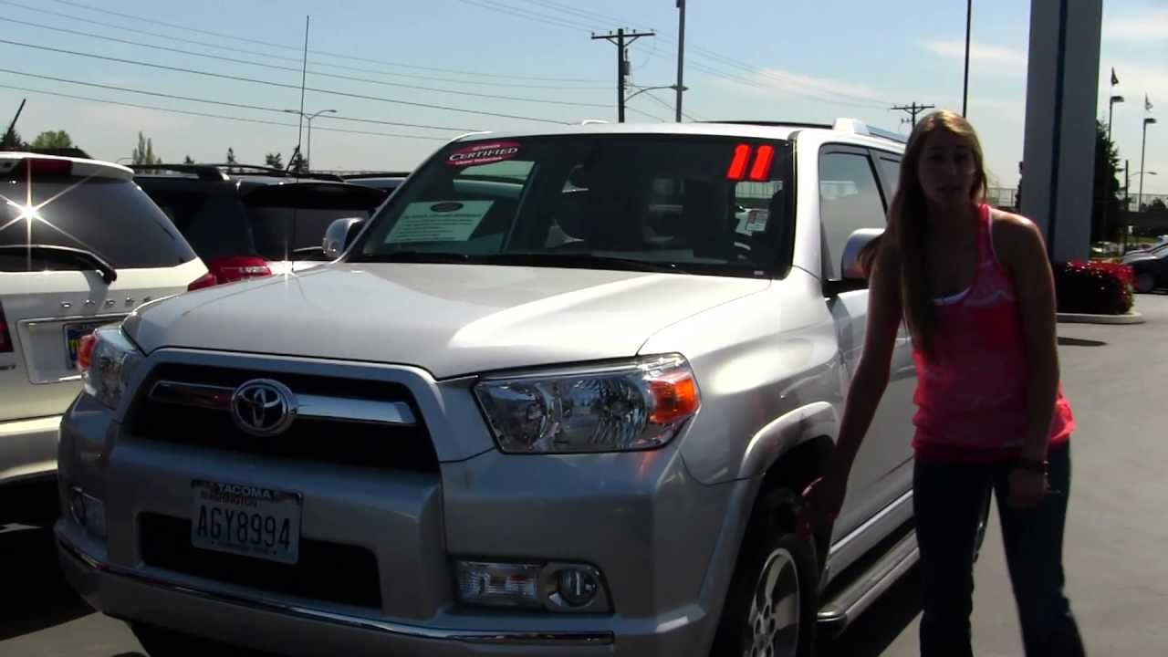Virtual Walk Around Video Of A 2011 Toyota 4Runner At Titus Will Toyota In  Tacoma