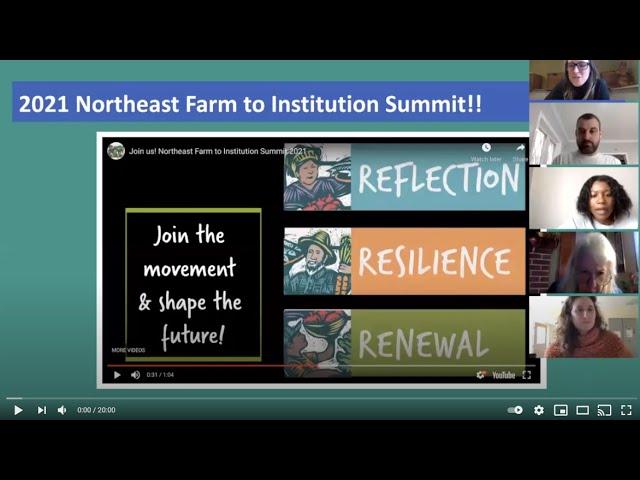 Dana Lindo- Farm to Institute New England