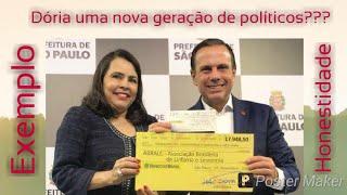 JOÃO DÓRIA E UMA NOVA GERAÇÃO DE POLÍTICOS/DOAÇÃO DE SALÁRIO E CORTE DE REGALIAS NA ELITE POLÍTICA