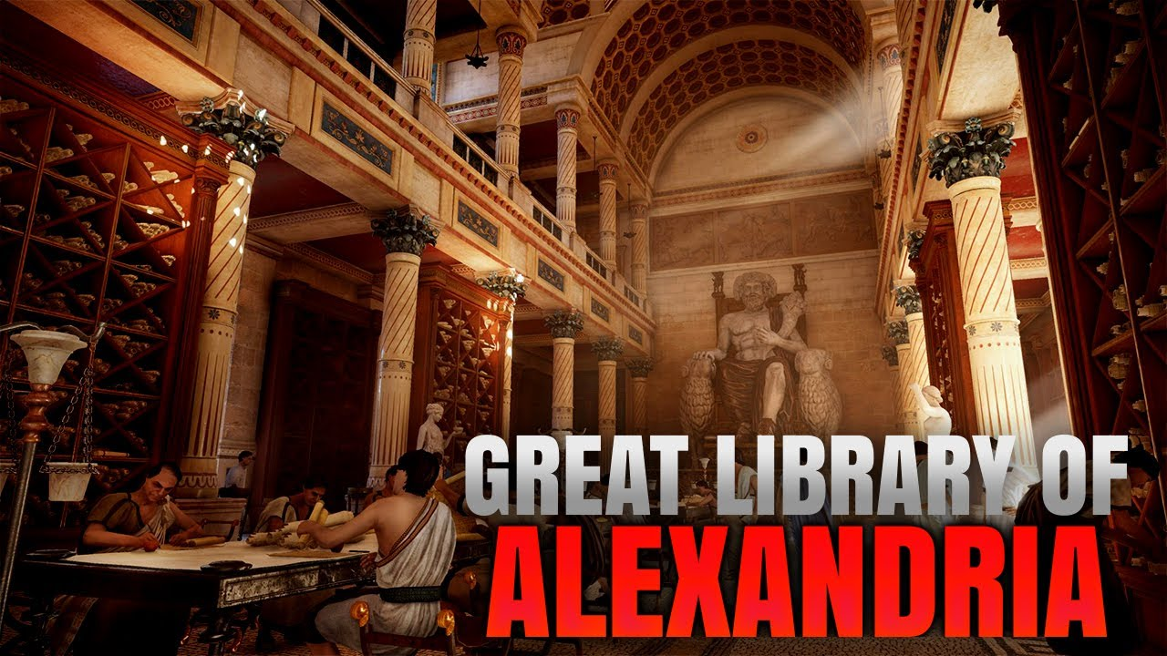 Image result for Ancient Library of Alexandria