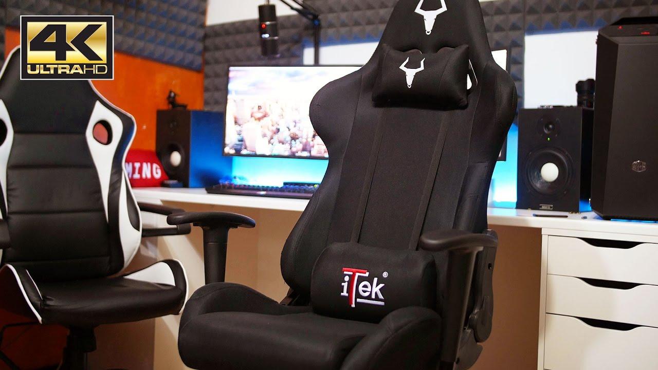 Una nuova sedia da gaming ad un prezzo interessante itek for Sedia da gaming