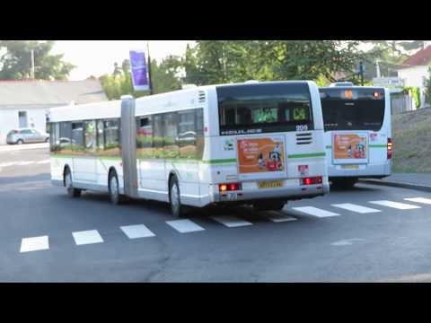 Heuliez GX 417 (Volvo B10LA) ZF #209 | Ligne C4 | Réseau TAN de Nantes
