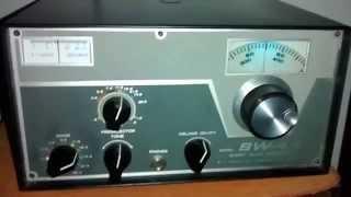 Radio Receptor Drake SW4A , ondas curtas, Sintonizando RAE.
