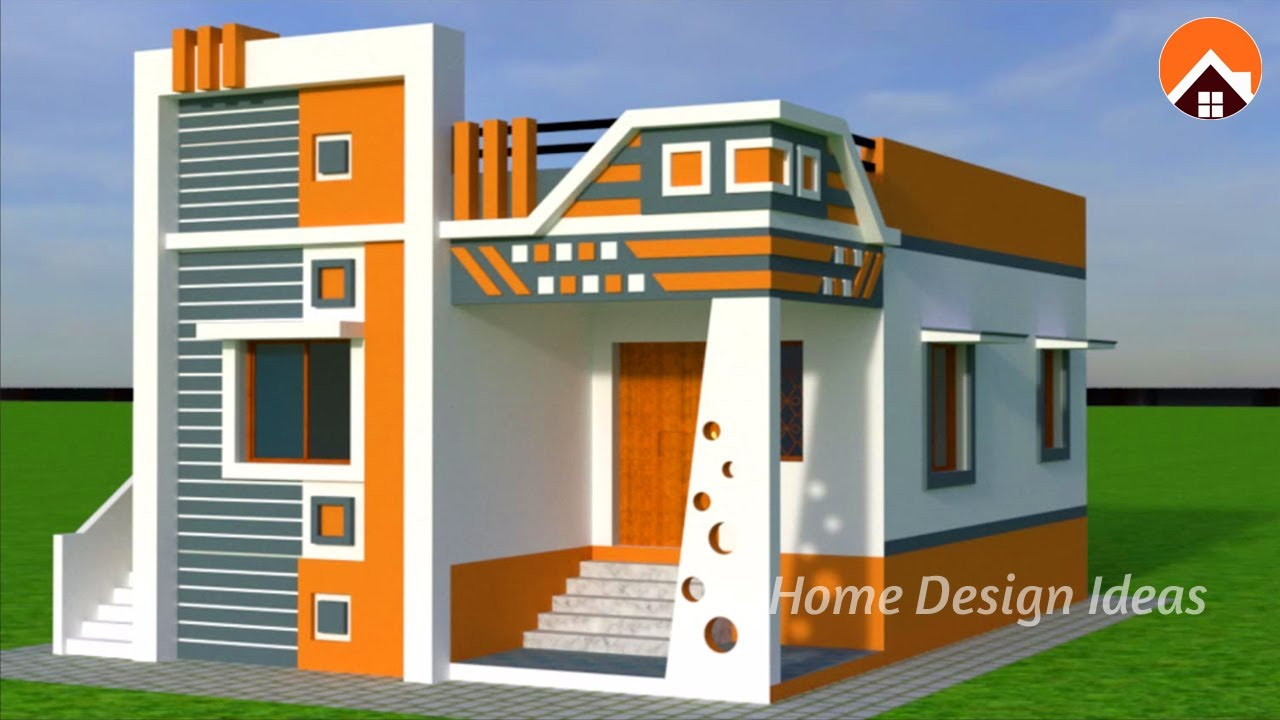 New Small Home Designs 2020 Latest Single Floor House Elevations Youtube