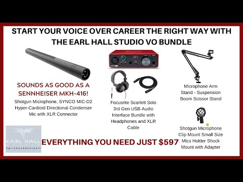 Voice Over Equipment For Beginners