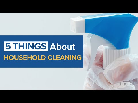 COVID-19 | Surgeon General Jerome Adams with Five Things To Know About Household Cleaning