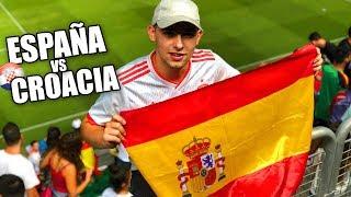 España vs Croacia 6-0 VIVO LA GOLEADA EN EL ESTADIO!!!