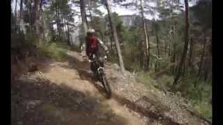 "На велосипедах по Французским Альпам (тропа ""51 поворот"")"