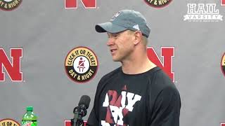 Nebraska Football: HC Scott Frost on Devine Ozigbo, Michigan State and More