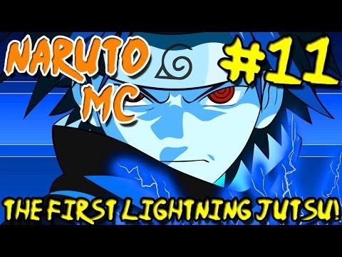 Naruto MC (Naruto Minecraft Mod) - Episode 11 | The First Lightning Jutsu!