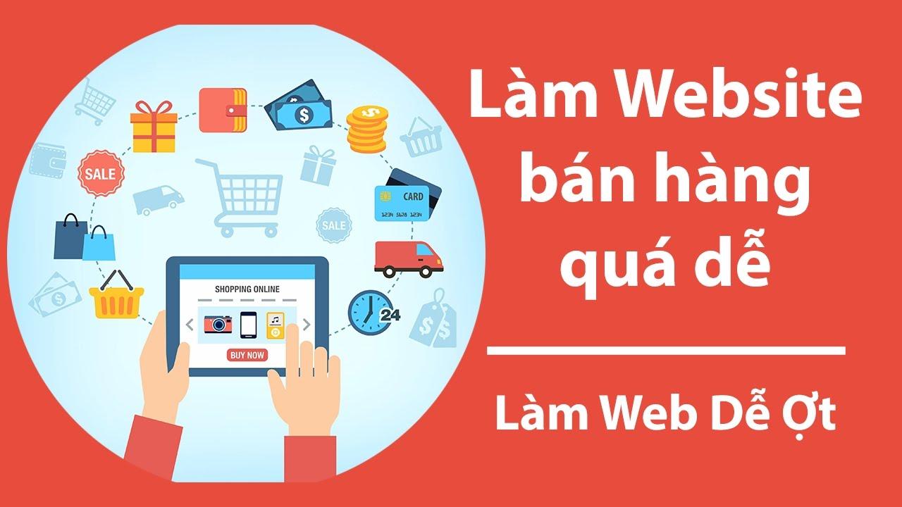 Tạo website bán hàng bằng WordPress miễn phí Dễ Ợt