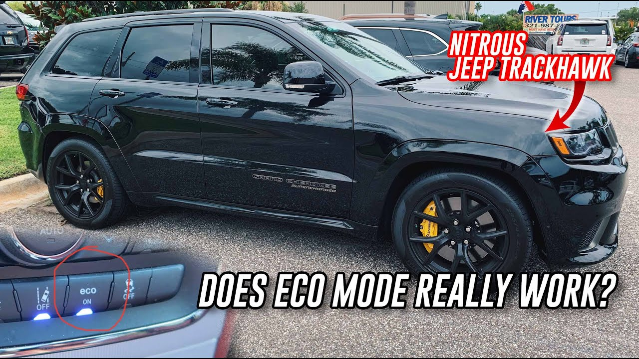 Does ECO Mode Work On 707hp Jeep Trackhawk?? Better Gas Milage?