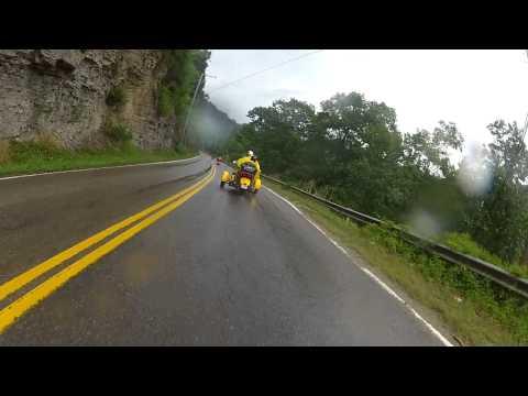 12 07 14 H&M Ride6 Blackberry City WV thru Lynn WV in Rain