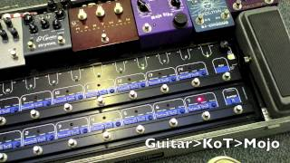 Using Flanger Phaser and Chorus with OVERDRIVE - TheGigRig, Hartman, AnalogMan, Mojovibe