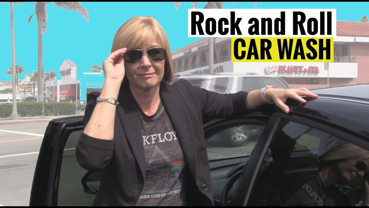 The Rock and Roll Car Wash!